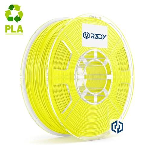 Filamento PLA Amarelo Neon 1,75mm - 1 Kg