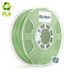 Filamento PLA Verde Claro Metálico 1,75mm - 1 Kg