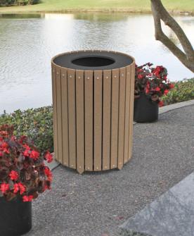 round waste enclosure