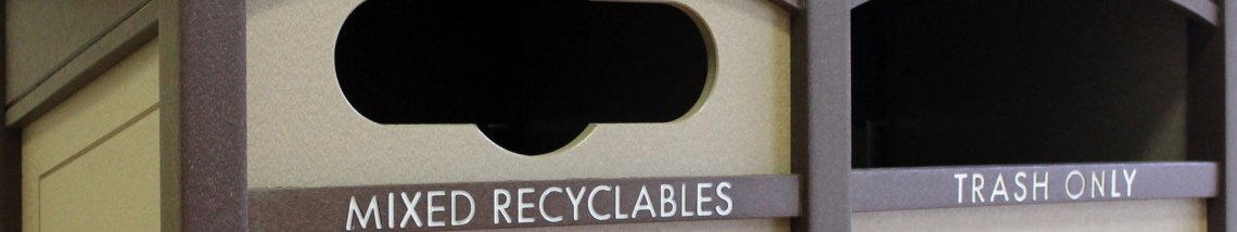 custom recycling bins