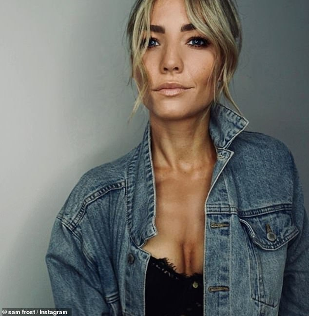 Home and away star said  'I've been crying hysterically': Home and Away star Sam Frost revealed this week that she has 'crippling anxiety' over COVID-19 and feels 'more alone than ever'