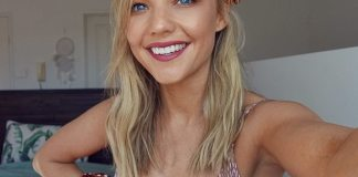 Helping others: The blonde has long been a crusader for mental health and established her website, Believe by Sam frost, in 2018 to help others