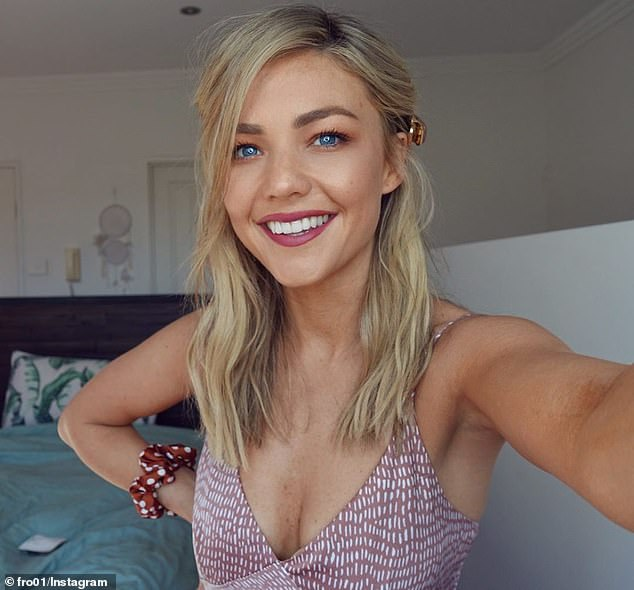Home and away :Helping others The blonde has long been a crusader for mental health and established her website, Believe by Sam frost, in 2018 to help others