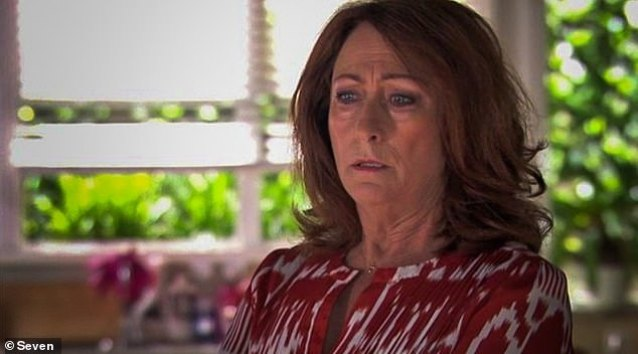 Drama: ' It clarified that no cast or crew had tested positive for COVID-19, but that the decision was taken because of the growing logistical challenges involved with the COVID-19 case, ' a spokesman for Channel Seven said. Photographed: Lynne McGranger  playing Irene Roberts