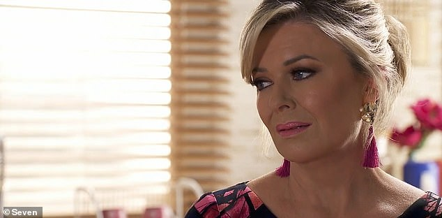 Home and Away is expected to remain on air given the show is filmed several months in advance. Pictured: Emily Symons who plays Marilyn Chambers