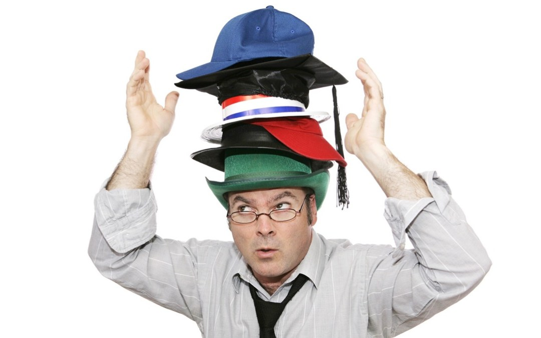En styreleder med flere hatter