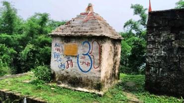 temple near masroor village