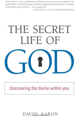 The Secret Life of God by Rabbi David Aaron