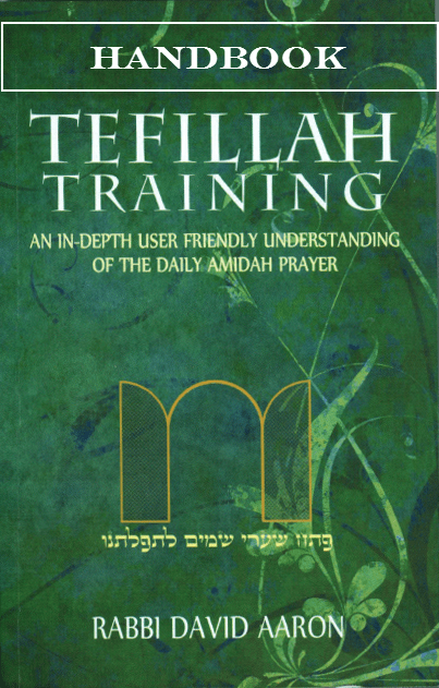 Tefillah Training Handbook by Rabbi David Aaron
