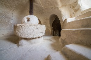underground olive press at Beit Guvrin Israel