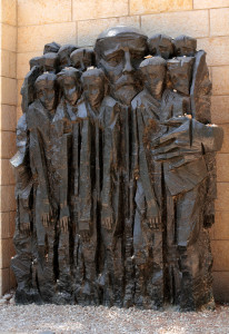 janusz korczak memorial statue Yad Vashem