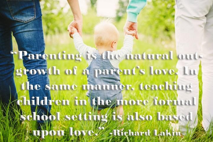richard lakin teaching as an act of love