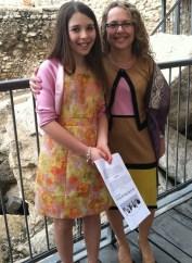 Hannah Goodman and her mother, Avra Rosen.