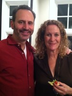 """Marc and Nancy Taxman, our wonderful hosts for """"Latkes and Vodka"""""""