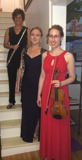 Our fabulous congregational musicians: Karen Rose, Allison Aldrich and Sarah Weber