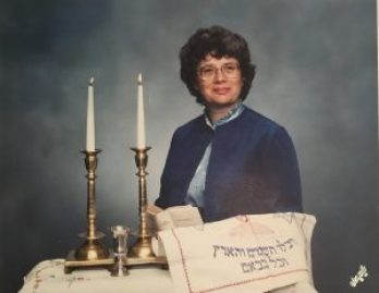 Mom with Candlesticks