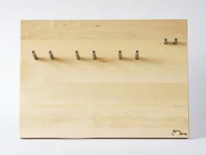 Siebträgerhalter, Siebträgerwandhalter Ahorn Groß Rabbit Espressodesign