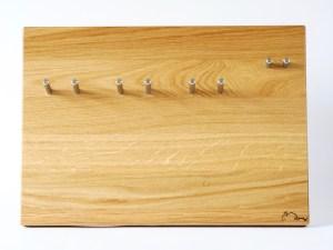 Siebträgerhalter, Siebträgerwandhalter Eiche Groß, Produktbild Rabbit Espressodesign