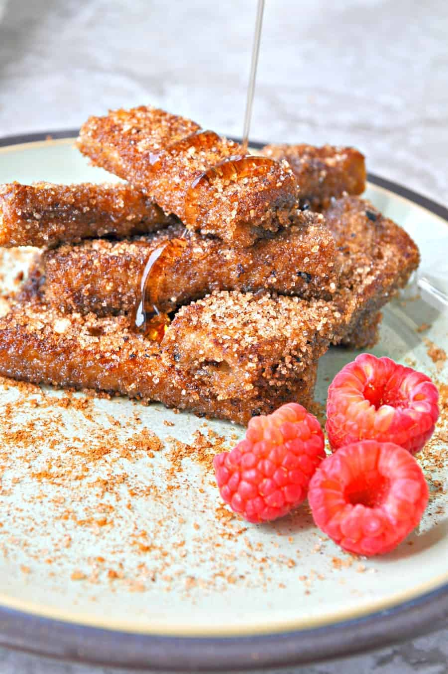 Vegan cinnamon and sugar french toast sticks rabbit and wolves these french toast sticks are not only so delicious that is it mind blowing but they make my life so much easier i generally already have all the solutioingenieria Choice Image
