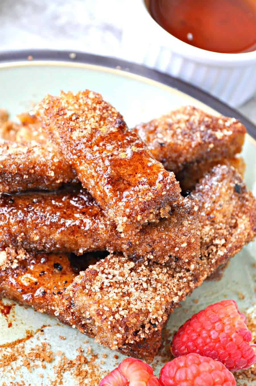 Vegan cinnamon and sugar french toast sticks rabbit and wolves have you ever had the french toast sticks from burger king i looooooved them when i was a wee child we were always pretty busy when i was a kid solutioingenieria Images