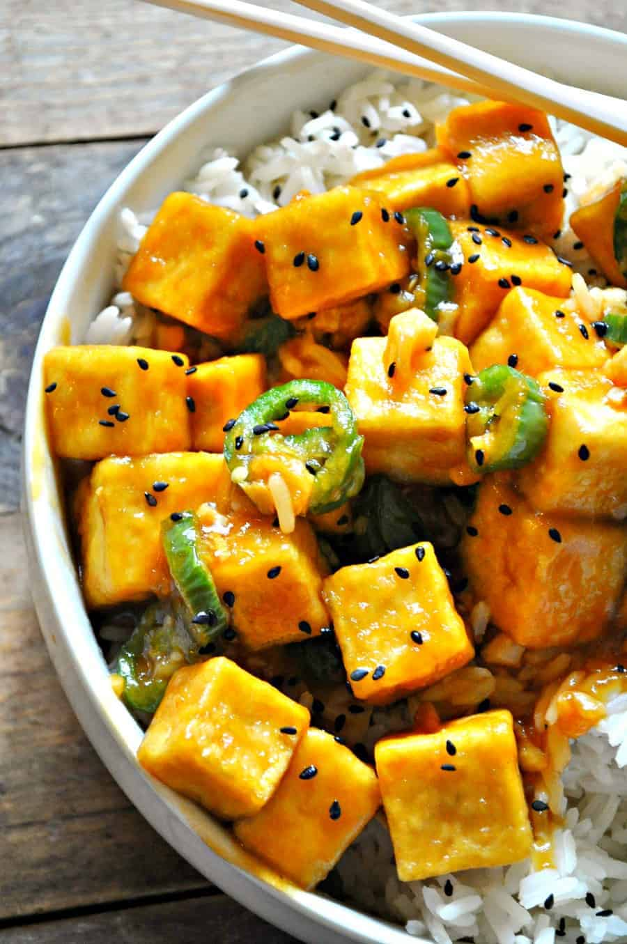 Vegan crispy hawaiian garlic tofu rabbit and wolves this vegan crispy hawaiian garlic tofu has it all sweet spicy salty crispy so easy yet still pretty healthy and refined sugar free forumfinder Image collections