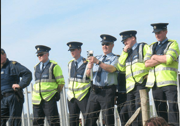 Gardaí in Rossport