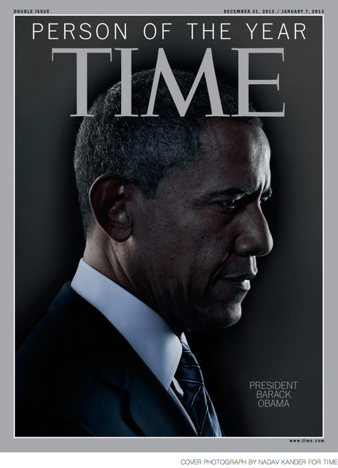 Obama as TIME's Person of the Year