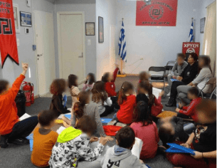 Golden Dawn Indoctrination