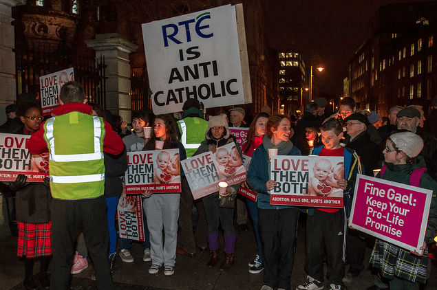 RTÉ is Anti Catholic