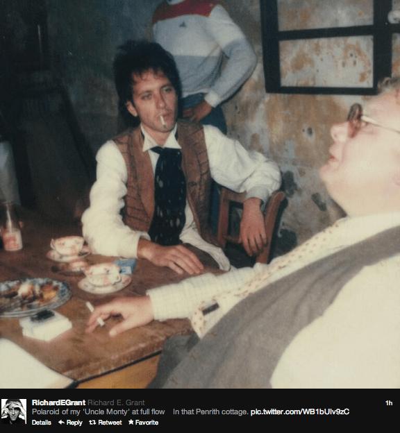 Richard E. Grant & Richard Griffiths