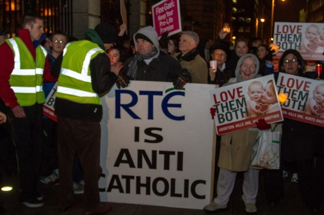 A photo by Paul Reynolds from our coverage of the Rally4Life.