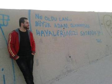Ahmet Atakan, the latest martyr of the Turkish protests.