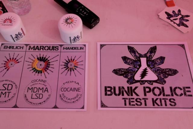 Bunk Police Substance Test Kit