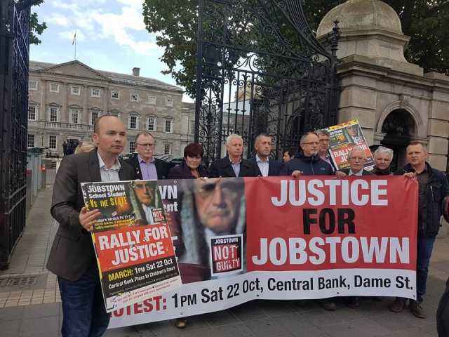 Campaign press statement launch outside Dail on 20/10/16