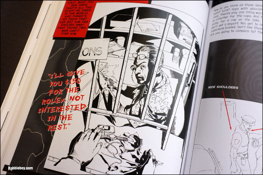 how to draw noir style graphic novel