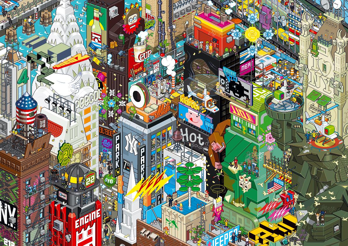 Eboy-ville-pixel-art-New-york