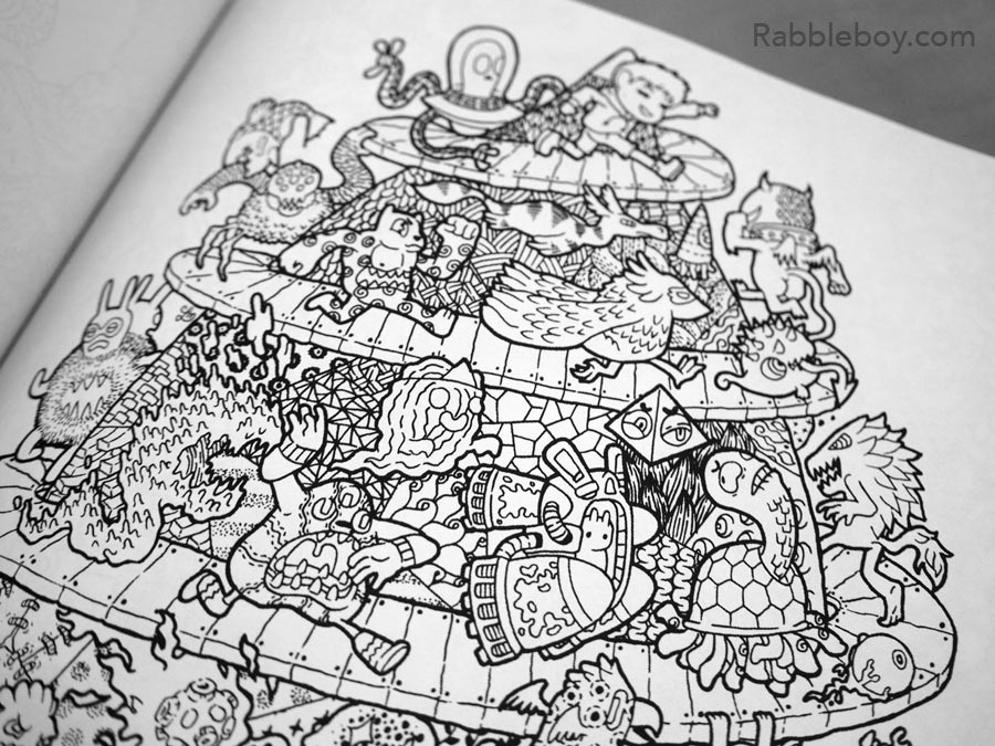 Adult coloring book P1100183