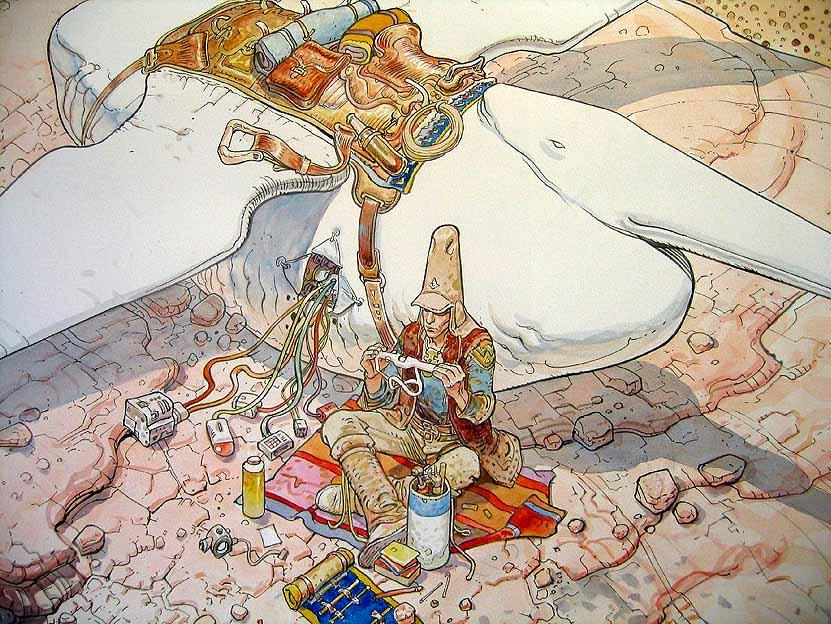 Awesome Moebius art - Imgur
