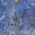 Jean-Giraud-aka-Moebius-Crowded-Streets
