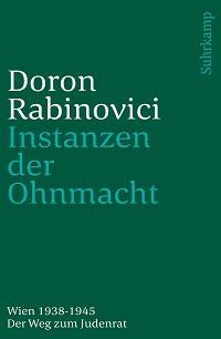 Cover Rabinovici_Instanzen_der_Ohnmacht