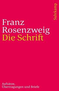 Cover Rosenzweig_Die_Schrift