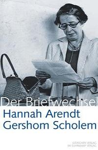 Cover Arendt_Scholem_Briefwechsel