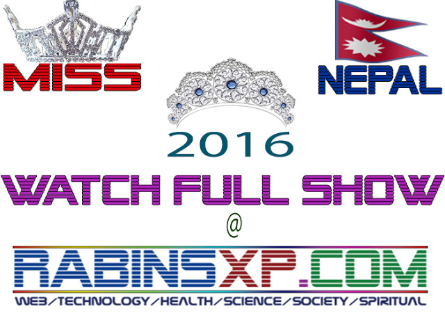 Miss Nepal 2016 Full Video - Fashion Show of Nepal