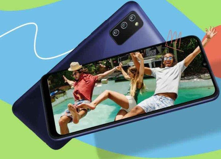 Samsung Galaxy F02s Display and Camera