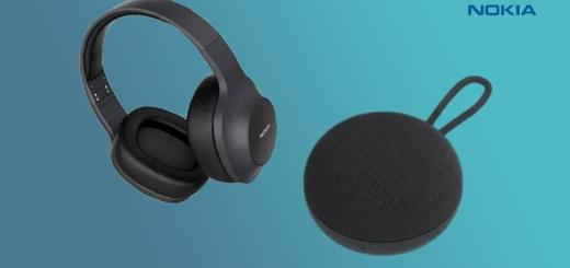Nokia Wireless Speaker SP-101 and Wireless Headphones E-1200 Nepal