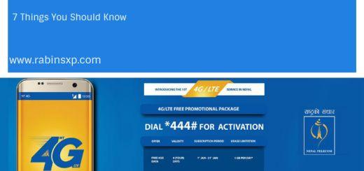 Nepal Telecom's 4G/LTE service