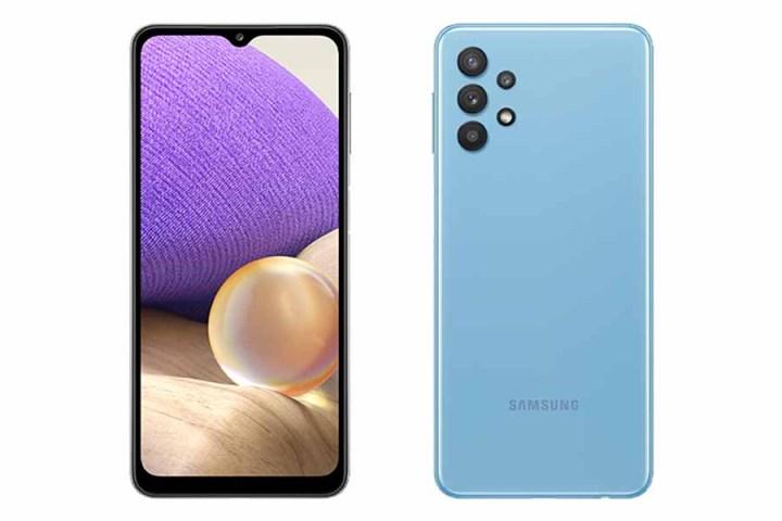 Samsung Galaxy A32 4G - Awesome Blue Design Display