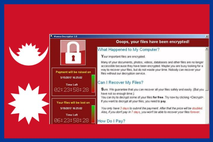 wannacry-ransomware infected sites of nepal