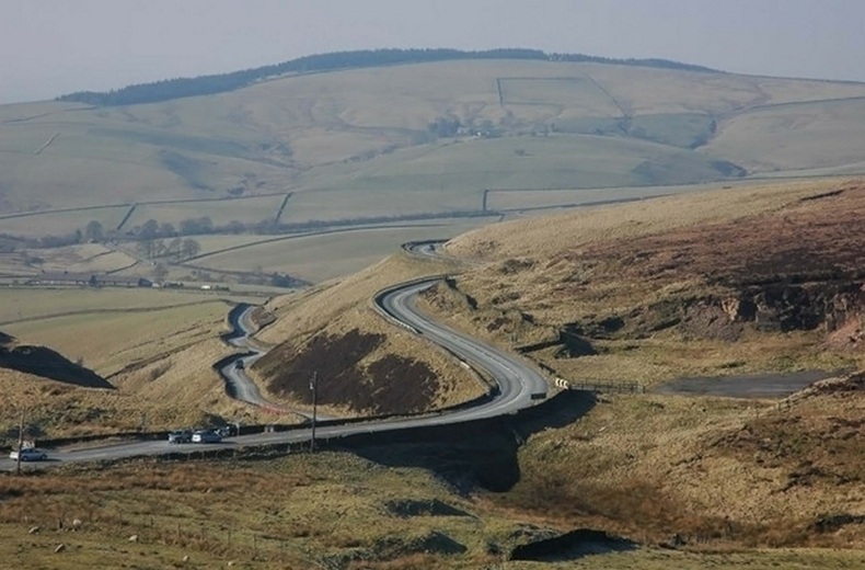 A537 Cat And Fiddle Peak District