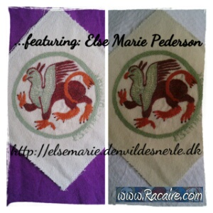 Patch for my wedding cloak project by Else Marie Pederson